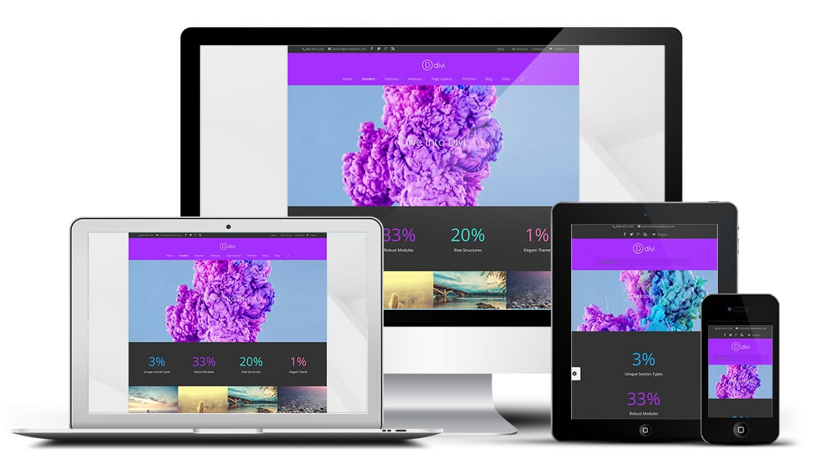 Boxed Layout Divi